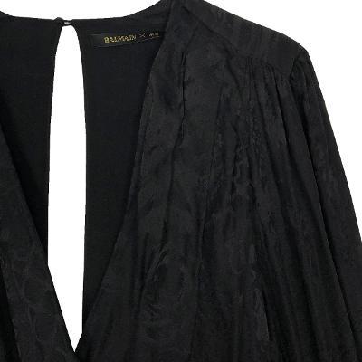 back open shirring dress